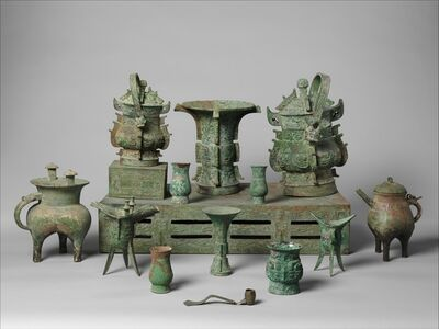 Unknown Chinese, 'Altar Set', late 11th century B.C.