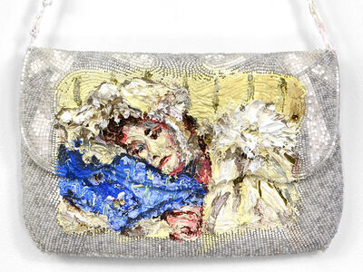 Annelie McKenzie, 'Beaded Talisman for Unwell Daughter (after Anna Alma Tadema)', 2018