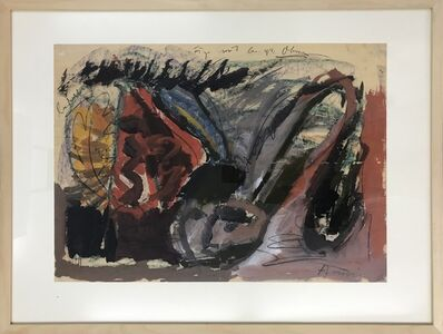 Siegfried Anzinger, 'Figur mit besonders großen Ohren', 1981