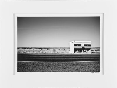 "Gray Malin, '""Marfa Prada (Black And White Original)""', 2005"