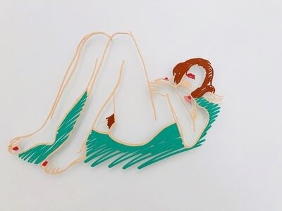 Tom Wesselmann, 'Blonde on Blanket  ', 1985/98