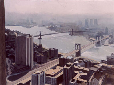 Diana Freedman-Shea, 'Two bridges', 2002