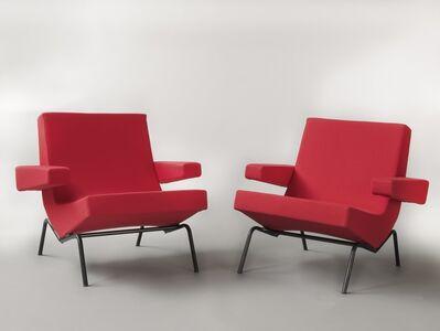 Pierre Paulin (1927-2009), 'Pair of armchairs CM195', 1958/1959