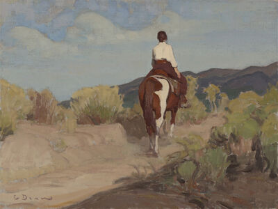 Glenn Dean, 'Along the Chamisa Trail', 2020
