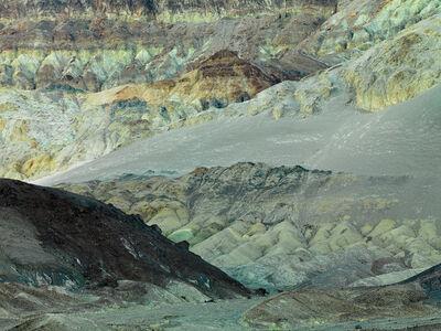 David G. Peterson, 'Dark Hill, eroded cliffs, Death Valley National Park', 2012