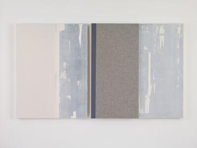 Jennie C. Jones, 'White Washed, Clipped Progression', 2017