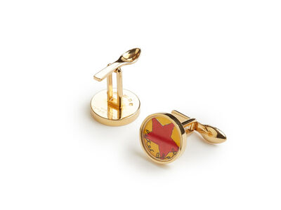 Peter Blake, 'Red Star Cufflinks', 2008