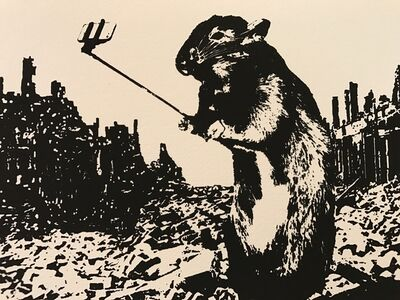 Blek le Rat, 'After The Apocalypse', 2017