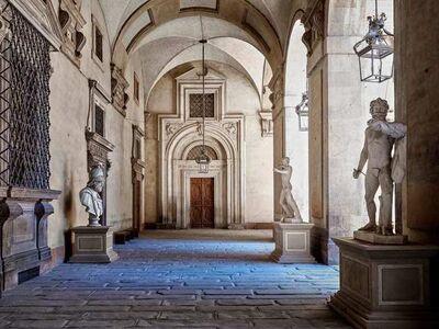 Massimo Listri, 'Cortile Palazzo Pitti, Firenze', 2018