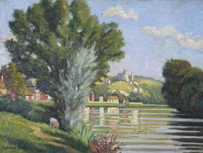 Ludovic-Rodo Pissarro, 'Chateau Gaillard, les Andelys', ca. 1930