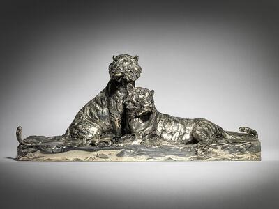 Mark Coreth, '4. Amur Tigers, resting', 2019
