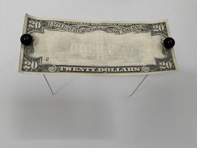 Donald Lipski, 'Building Steam #110-A, Erased $20 Bill', 1984