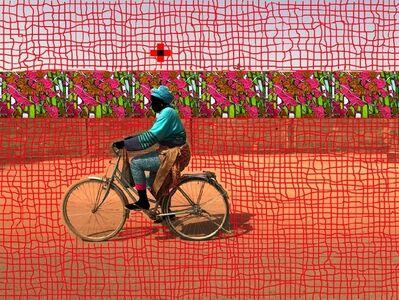 Saidou Dicko, 'Le vélo dame', 2018