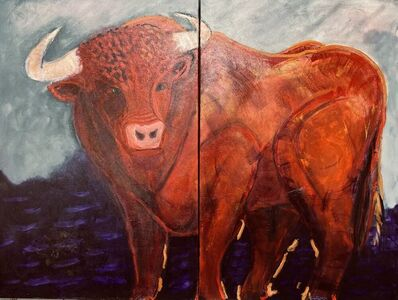 Frank Capezzera, 'Red Bull, diptych', 2021