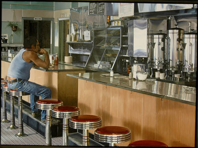 Ralph Goings, 'Amsterdam Diner', 1980
