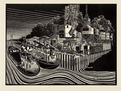 James Dodds, 'J J Prior, Sand Barges, Fingringhoe'