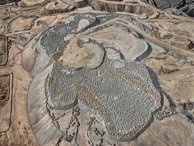Edward Burtynsky, 'Chuquicamata Copper Mine Overburden #1, Calama, Chile', 2017