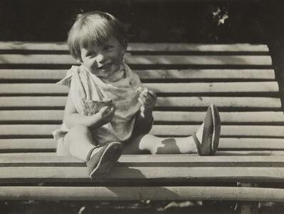 André Kertész, 'Le Soleil est Son Ami (Le Gouter sur le Banc), Paris', ca. 1933