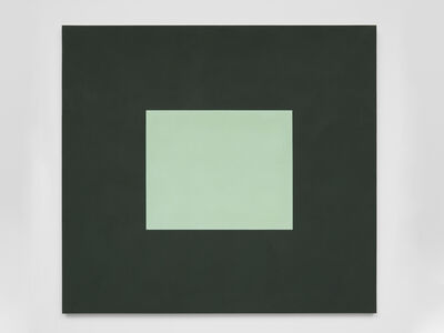 Peter Joseph, 'Light Green with Dark Green', 1987