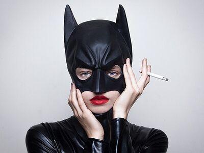 Tyler Shields, 'Bat woman', 2015