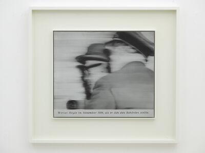 Gerhard Richter, 'Herr Heyde', 2001