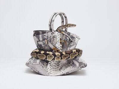 Tyler Shields, 'Python Birkin', 2016