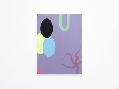 Mattia Pajè, 'Standpoint in purple', 2019