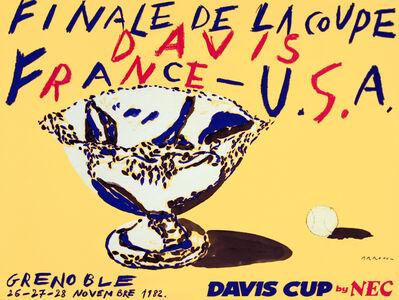Eduardo Arroyo, 'DAVIS CUP - GRENOBLE 1982', 1982
