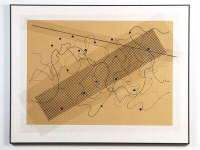 John Cage, 'Fontana Mix (Orange/Tan)', 1981