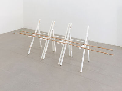 Esther Kläs, '3 chairs or other places', 2018