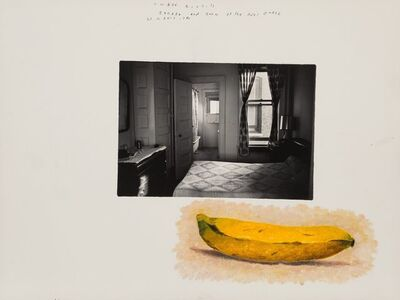 Duane Michals, 'Banana and Room at the Hotel Earle', 1980