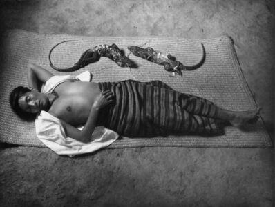 Flor Garduño, 'Dreaming Woman, Pinotepa Nacional, Mexico (La Mujer Que Sueña)', 1991