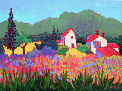 """Claudia Hartley, '""""Profusion of Flowers""""'"""