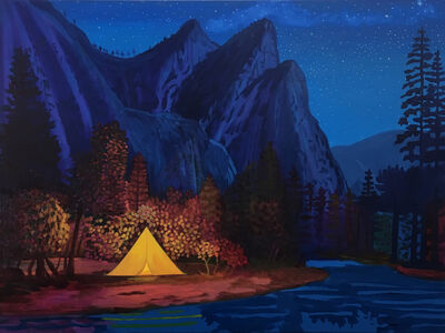 Daniel Heidkamp, 'Night Camp (II)', 2019
