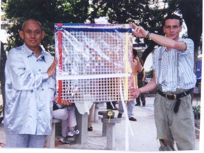 David Medalla, 'Rio Mondrian Fan Club, 2001', 2001