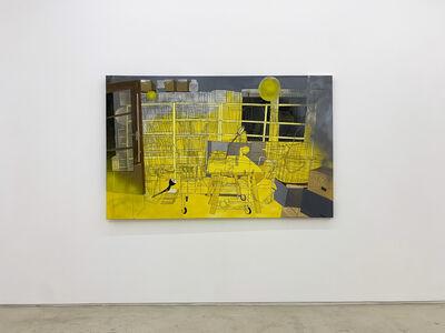 ANNA BRAG, 'Annachronical yellow flow', 2019