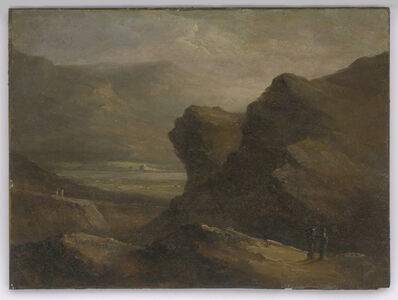 Robert Seldon Duncanson, 'Untitled (Landscape with Figures)', ca. 1860-65