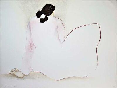 """Rudolph Carl Gorman, ' """"Damita Pink Blouse""""', 1979"""