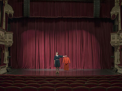 Elina Brotherus, 'Performance Is Cancelled Due To Illness', 2017
