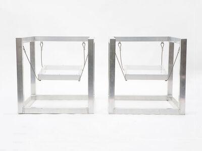 """RO/LU, 'Pair of Aluminum """"Rauschenberg"""" Armchairs', 2011"""