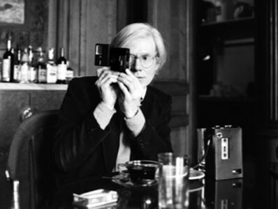 Harry Benson, 'Andy Warhol at The Factory, New York', 1977