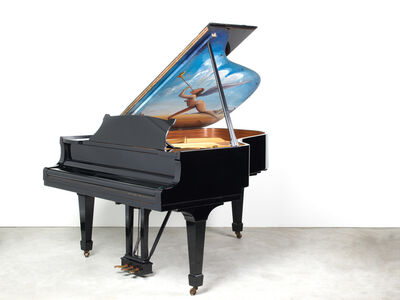 "Salvador Dalí, '""Untitled"" (Known as the Piano of Mozart)', ca. 1970"