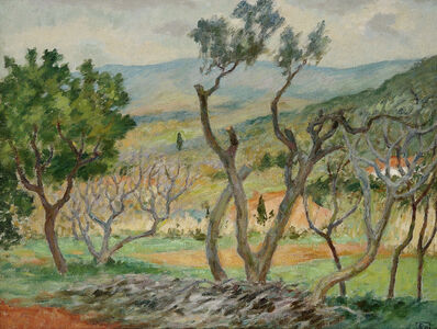 Rupert Bunny, 'Landscape, South of France', ca. 1924
