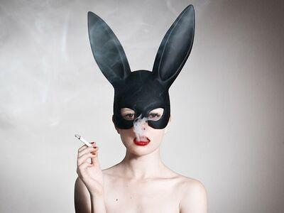 Tyler Shields, 'Bunny', 2016