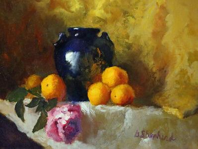 Gloria Shepherd, 'Citrus and Dark Vase', 2019