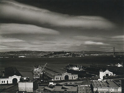 Philip Hyde, 'Piers and Waterfront, San Francisco ', 1948