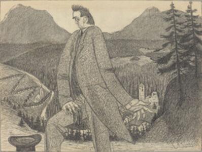 Ernst Barlach, 'Man of Heights', 1906