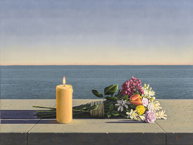 David Ligare, 'Candles and Flowers ', 2017