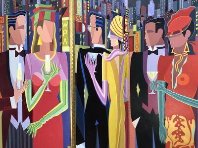 Giancarlo Impiglia, 'City At Dusk (Triptych) ', 2019