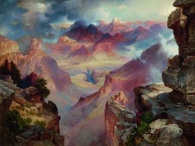 Thomas Moran, 'Grand Canyon of Arizona at Sunset', 1909